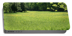 Portable Battery Charger featuring the photograph Field Of Dreams by Heidi Poulin
