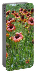 Field Of Flower Eyes Portable Battery Charger