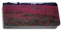 Field Of Poppies, France Portable Battery Charger