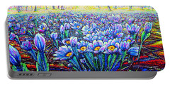 Field.flowers Portable Battery Charger