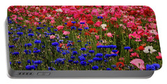 Fields Of Flowers Portable Battery Charger