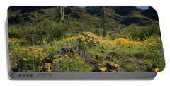 Fields Of Glory Portable Battery Charger by Lucinda Walter