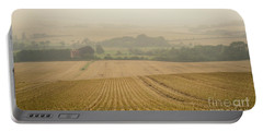 Portable Battery Charger featuring the photograph Fields Of Gold by Perry Rodriguez