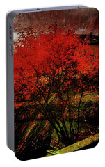 Portable Battery Charger featuring the photograph Fiery Dance by Mimulux patricia no No