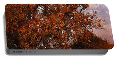 Fiery Elm Tree  Portable Battery Charger