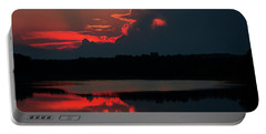 Fiery Evening Portable Battery Charger