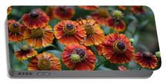 Fiery Heleniums Portable Battery Charger