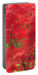 Fiery Japanese Maple Portable Battery Charger