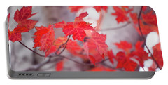 Fiery Leaves Portable Battery Charger