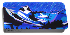 Fiery Raining Meteors Portable Battery Charger