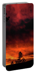 Fiery Sky Portable Battery Charger by Jason Coward
