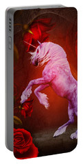 Fiery Unicorn Fantasy Portable Battery Charger by Smilin Eyes  Treasures