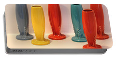 Fiestaware Bud Vases Portable Battery Charger