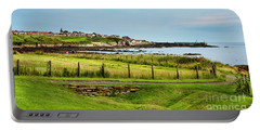 Fife Coastal Pathway Leading To Pittenweem Portable Battery Charger