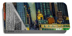 Portable Battery Charger featuring the photograph Fifty-seventh Street Fantasy by Chris Lord