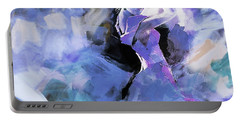 Portable Battery Charger featuring the painting Figurative Dance Art 509w by Gull G