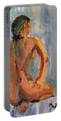 Figure Study 1 Portable Battery Charger by Michael Helfen