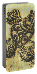 Filigree Love Portable Battery Charger