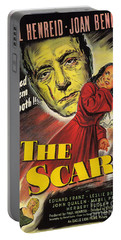 Film Noir Poster  The Scar Portable Battery Charger