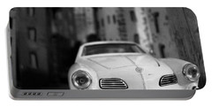 Film Noir Portable Battery Charger