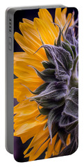 Portable Battery Charger featuring the photograph Filtered Sunflower by Arlene Carmel