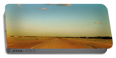 Portable Battery Charger featuring the photograph Final Approach by Iconic Images Art Gallery David Pucciarelli