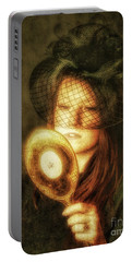 Portable Battery Charger featuring the photograph Final Touch  ... by Chuck Caramella