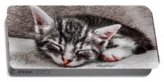 Finally Asleep  Copyright Mary Lee Parker 17  Portable Battery Charger