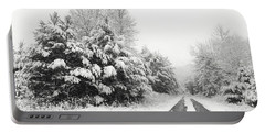 Portable Battery Charger featuring the photograph Find A Pretty Road by Lori Deiter