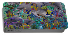 Find The Sea Dragon Portable Battery Charger by Betsy Knapp