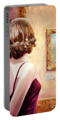 Fine Art Gallery Opening Night Portable Battery Charger
