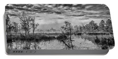 Fine Art Jersey Pines Landscape Portable Battery Charger