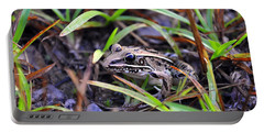 Portable Battery Charger featuring the photograph Fine Frog by Al Powell Photography USA