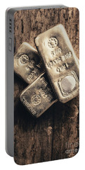 Fine Silver 999 Portable Battery Charger
