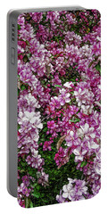 Portable Battery Charger featuring the photograph Fine Wine Cafe Beautiful Blossoms by Aimee L Maher Photography and Art Visit ALMGallerydotcom