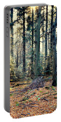 Fir Forest-2 Portable Battery Charger by Henryk Gorecki