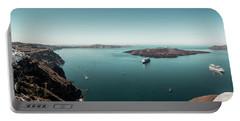 Fira, Santorini - Greece Portable Battery Charger