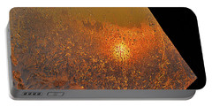 Portable Battery Charger featuring the photograph Fire And Ice by Susan Capuano