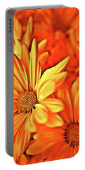 Fire Daisies Portable Battery Charger