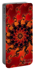 Fire Fractal  Portable Battery Charger