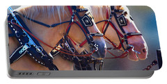 Fire Horses Portable Battery Charger