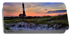 Fire Island Lighthouse Portable Battery Charger by Rick Berk