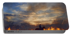 Fire Up The Sunset Portable Battery Charger