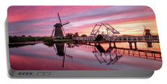 Fired Sky Kinderdijk Portable Battery Charger