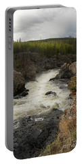 Firehole River Cascade Portable Battery Charger by Cindy Murphy - NightVisions