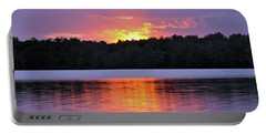 Portable Battery Charger featuring the photograph Sunsets by Glenn Gordon