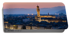 Firenze At Sunset Portable Battery Charger