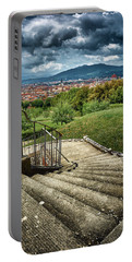 Firenze From The Boboli Gardens Portable Battery Charger