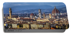 Portable Battery Charger featuring the photograph Firenze by Sonny Marcyan
