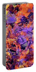 Firestorm Portable Battery Charger by Lynda Lehmann